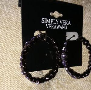 Simply Vera Vera Wang  hoop earring